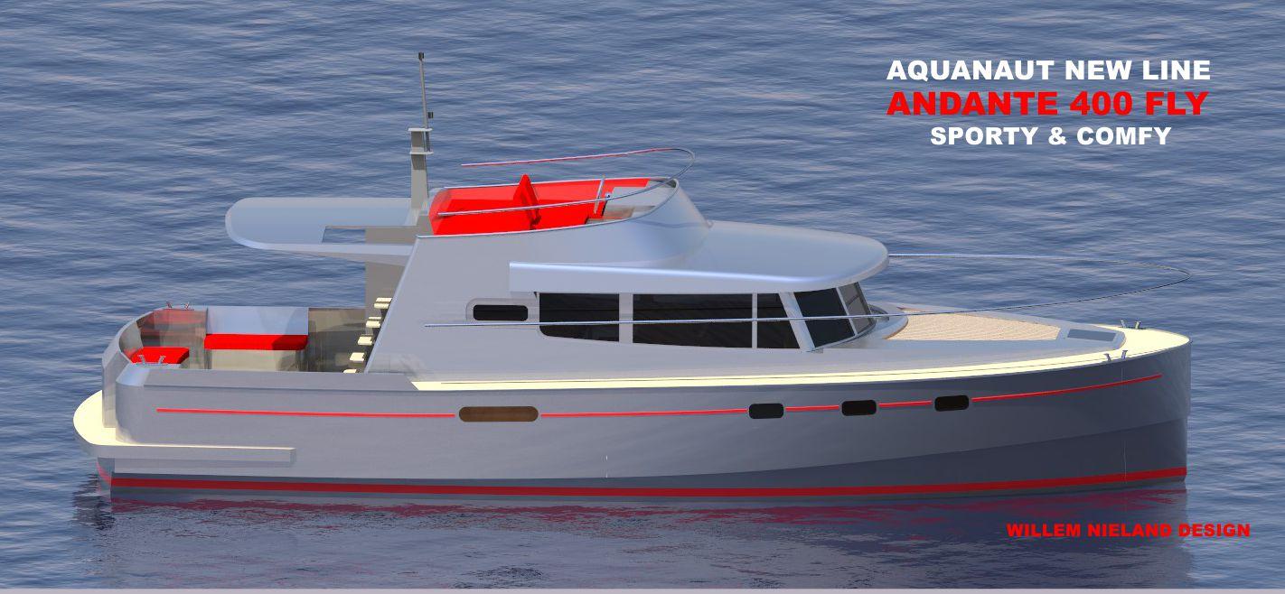 Andante 400 FLY Aquanaut Willem Nieland Design