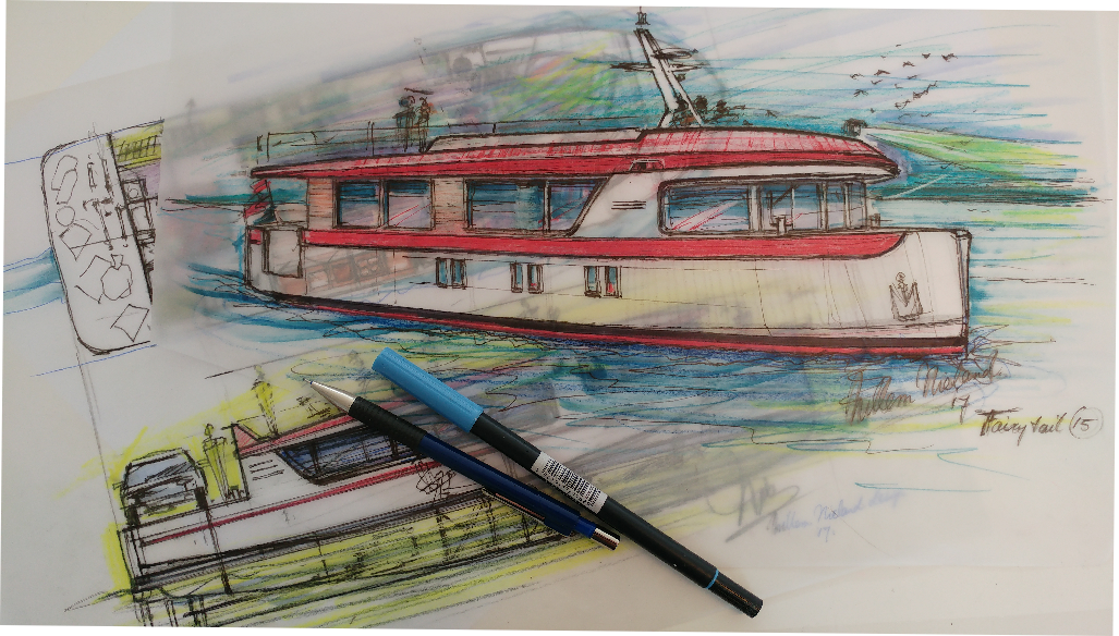 French Canal Boat Cruising Home Willem Nieland Design
