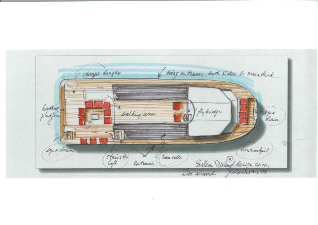 Globemaster 44 Willem Nieland Design