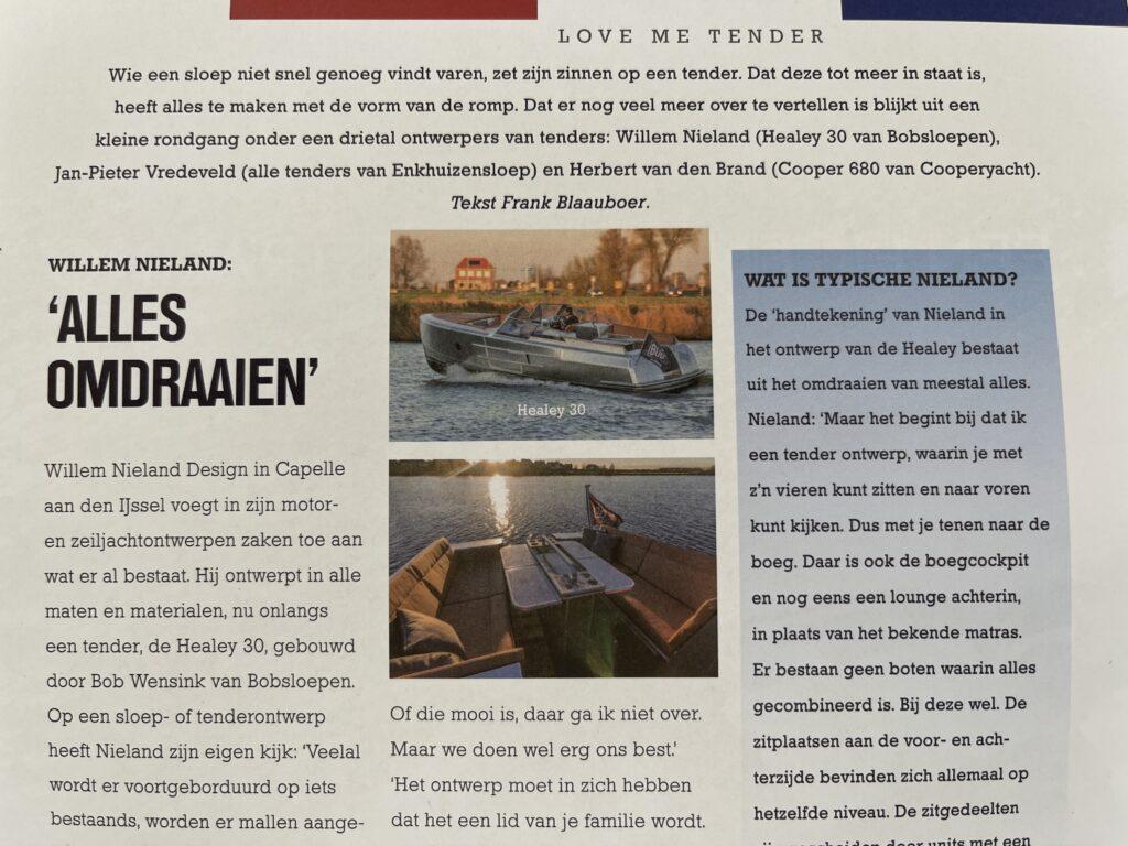 Healey 30 by Willem Nieland Design